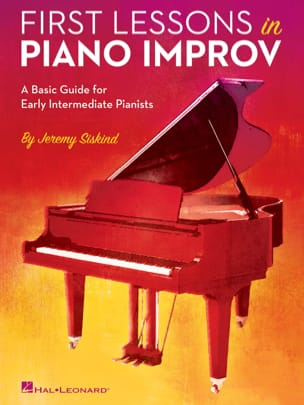 First Lessons in Piano Improv Jeremy Siskind Livre laflutedepan