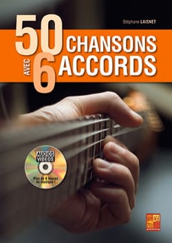 Stephane Laisnet - 50 Chansons Avec 6 Accords - Partition - di-arezzo.fr
