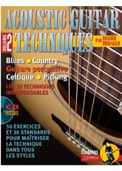 Didier Béhague & Jean-Jacques Rébillard - Acoustic Guitar Techniques Volume 2 - Partition - di-arezzo.fr