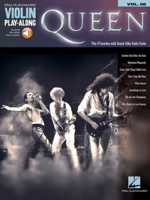 Violin Play-Along Volume 68 - Queen - Queen - laflutedepan.com