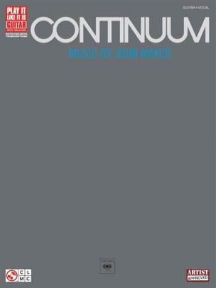 Continuum John Mayer Partition Pop / Rock - laflutedepan