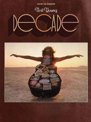 Decade Neil Young Partition Pop / Rock - laflutedepan