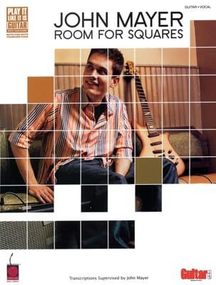 Room For Squares John Mayer Partition Pop / Rock - laflutedepan