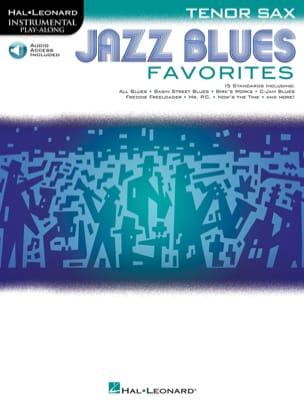 Jazz Blues Favorites - Partition - Saxophone - laflutedepan.com