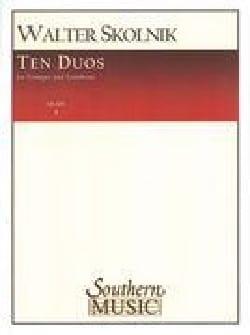 Walter Skolnik - 10 dúos - Partitura - di-arezzo.es
