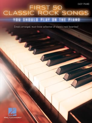 - First 50 Classic Rock Songs You Should Play on Piano - Partition - di-arezzo.fr