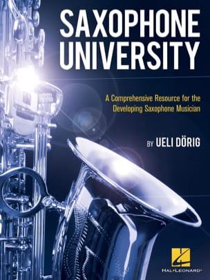 Saxophone University Ueli Dörig Partition Saxophone - laflutedepan
