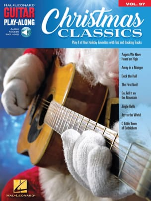 Guitar Play-Along Volume 97 - Christmas Classics - laflutedepan.com