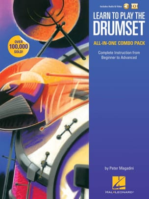 Peter Magadini - Learn to Play the Drumset - Volume 1 - 2 - Sheet Music - di-arezzo.com