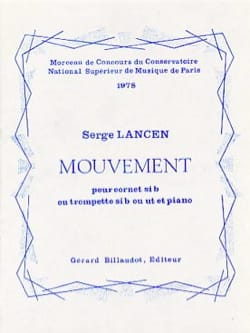 Serge Lancen - Mouvement - Partition - di-arezzo.fr