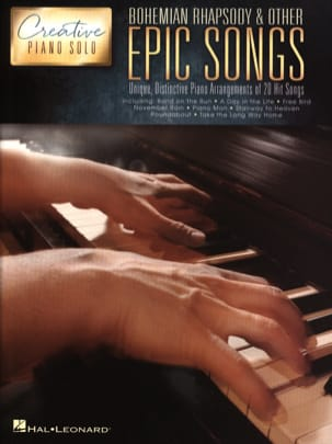- Creative Piano Solo - Bohemian Rhapsody & Other Epic Songs - Sheet Music - di-arezzo.co.uk
