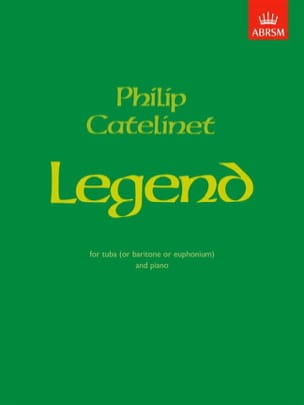 Philip Catelinet - Legend - Partition - di-arezzo.fr