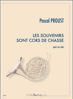 Les souvenirs sont cors de chasse Pascal Proust Partition laflutedepan