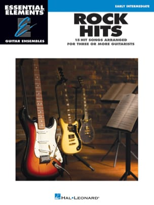 Rock Hits - 15 Hit Songs Arranged for three or more guitarists laflutedepan