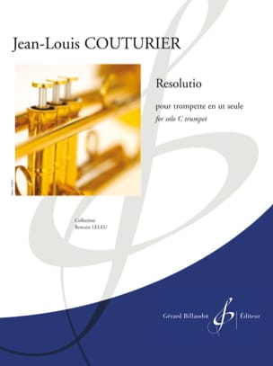 Resolutio - Jean-Louis Couturier - Partition - laflutedepan.com