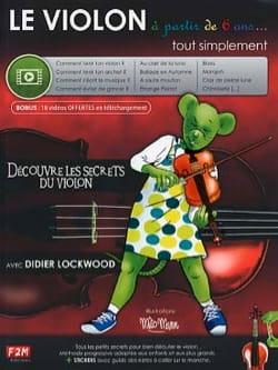 Le VIOLON à partir de 6 ans... Didier Lockwood Partition laflutedepan