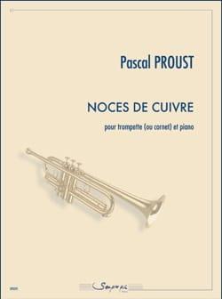 Pascal Proust - Copper wedding - Sheet Music - di-arezzo.co.uk