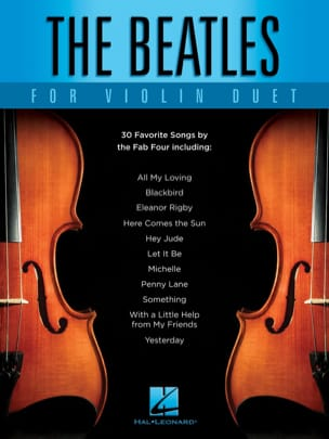The Beatles For Violin Duet Beatles Partition Violon - laflutedepan