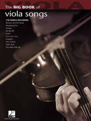 The Big Book of Viola Songs - Partition - di-arezzo.fr