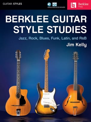 Berklee Guitar Style Studies Jim Kelly Partition laflutedepan