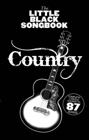 - The Little Black Songbook - Country - Partition - di-arezzo.fr