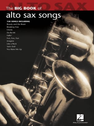 The Big Book of Alto Sax Songs Partition Saxophone - laflutedepan