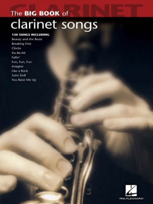 The Big Book of Clarinet Songs Partition Clarinette - laflutedepan