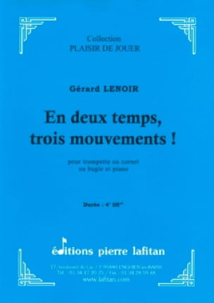 Gérard Lenoir - In two steps, three movements! - Sheet Music - di-arezzo.co.uk