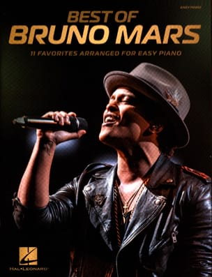 Bruno Mars - Best of Bruno Mars - Easy piano - Partition - di-arezzo.fr