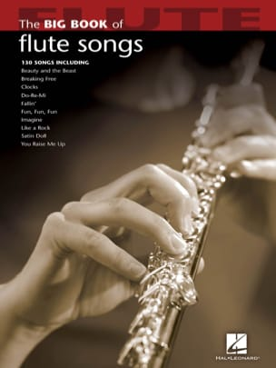 The Big Book of Flute Songs Partition laflutedepan