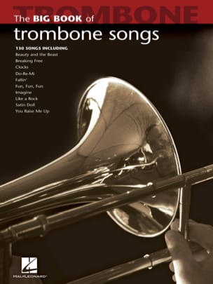 The Big Book of Trombone Songs Partition Trombone - laflutedepan