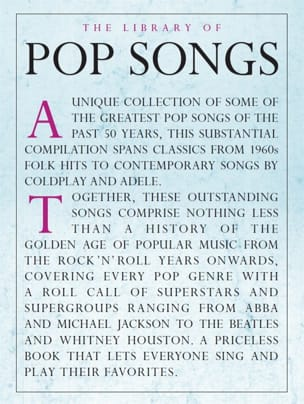 The Library Of Pop Songs - Sheet Music - di-arezzo.co.uk