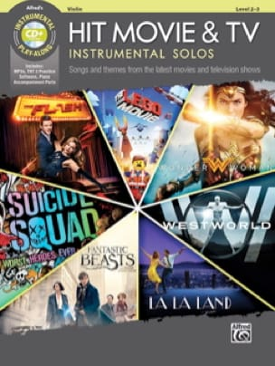 - Hit Movie & TV Instrumental Solos - Violon - Partition - di-arezzo.fr