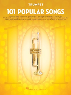 101 Popular Songs - Partition - Trompette - laflutedepan.com