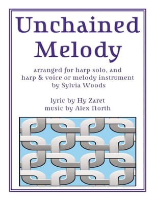 Unchained Melody Alex North & Hy Zaret Partition Harpe - laflutedepan