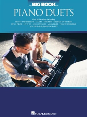 The Big Book of Piano Duets Partition Piano - laflutedepan