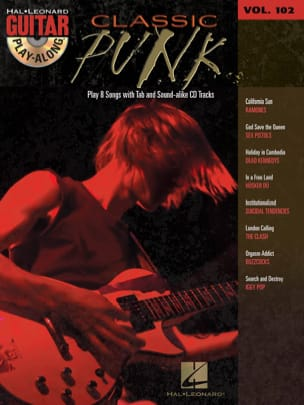 Guitar Play-Along Volume 102 - Classic Punk - Partition - di-arezzo.fr