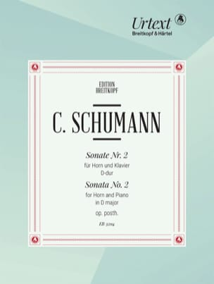 SCHUMANN - Sonata No. 2 Opus Posthumous in D Major - Sheet Music - di-arezzo.com