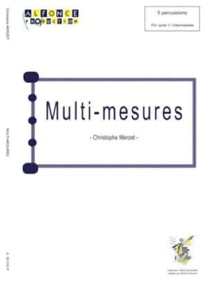 Christophe Merzet - Multi-Mesures - Partition - di-arezzo.fr