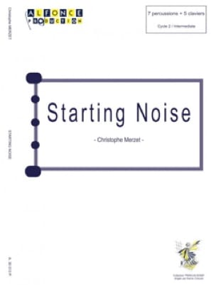Christophe Merzet - Starting Noise - Partition - di-arezzo.com
