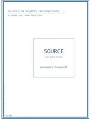 Alexandre Ouzounoff - Source - Sheet Music - di-arezzo.co.uk