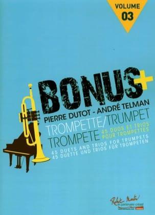 Pierre Dutot & André Telman - Bonus Plus - Volume 3 - Partition - di-arezzo.fr