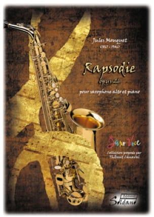 Jules Mouquet - Rapsodie Opus 26 - Partition - di-arezzo.fr