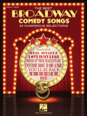 - The Best Broadway Comedy Songs - Partition - di-arezzo.fr