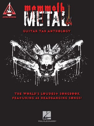 - Mammoth Metal Guitar Tab Anthology - Partition - di-arezzo.fr
