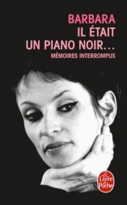 Il était un piano noir... Barbara Livre Les Hommes - laflutedepan