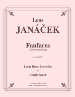 Leos Janácek - Fanfares from Sinfonietta - Partition - di-arezzo.fr