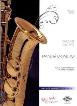 Vincent Balivet - Pandémonium - Partition - di-arezzo.fr