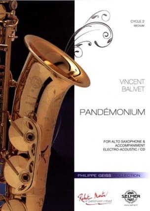 Pandémonium - Vincent Balivet - Partition - laflutedepan.com