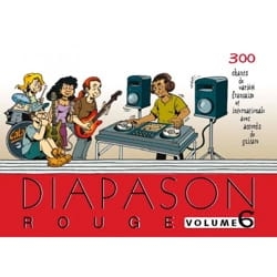 Diapason Rouge - Volume 6 Partition Pop / Rock - laflutedepan